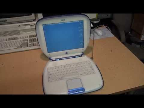 "Apple iBook G3 ""Clamshell"" laptop computer"