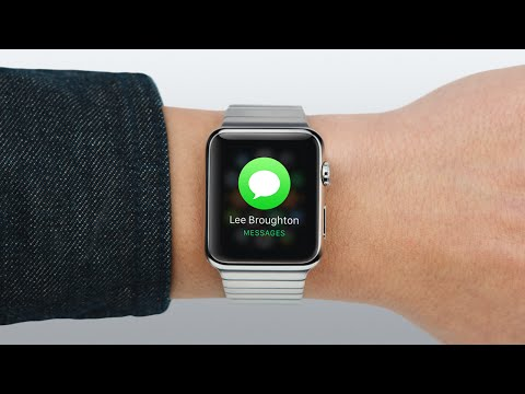 Apple Watch — Guided Tour: Messages