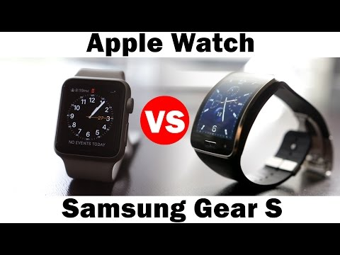 Apple Watch vs Samsung Gear S – SmartWatch Comparison