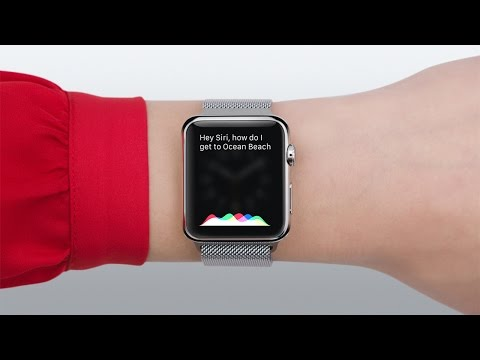 Apple Watch — Guided Tour: Siri