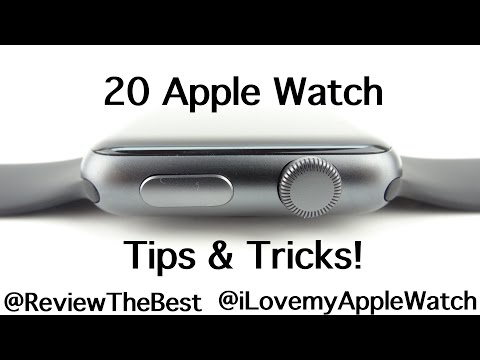 20 Apple Watch Tips + Tricks & Things You Might Not Know!