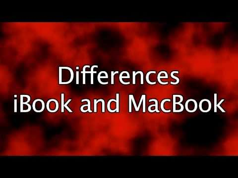 iBook vs. MacBook – What is the difference?