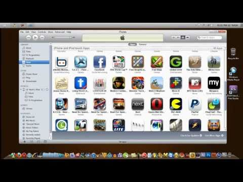 How To Install Apps On iPhone/iPod Touch Using Itunes