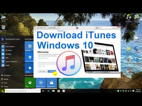 How to Download iTunes to your Computer – Windows 10 Free & Easy Install