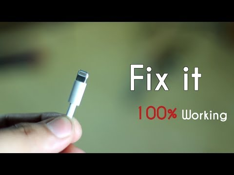 Best way to fix iPhone,iPod & iPad Lightning USB cable