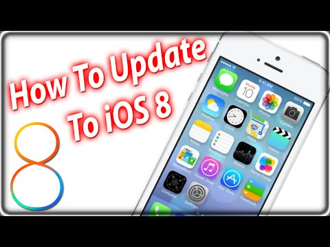 How To Update and Install iOS 8 iPhone, iPad, iPod Touch Via The Air and iTunes