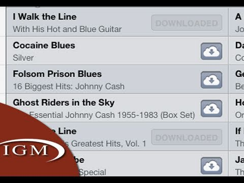 iTunes in the iCloud Demo – Download your iTunes songs from iCloud (First Look)