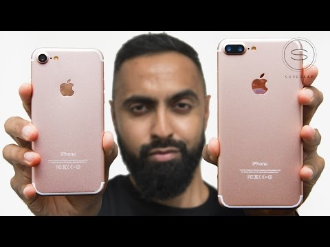 iPhone 7 vs 7 Plus Unboxing (Prototype)