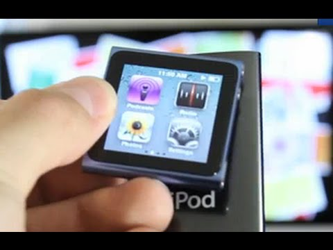 New iPod Nano 6G Review & Walkthrough (Nano Touch) Featuring the iWatch :)