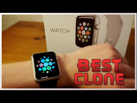 Best 1:1 Apple Watch Clone Review! (MTK2502C) [iOS & Android]