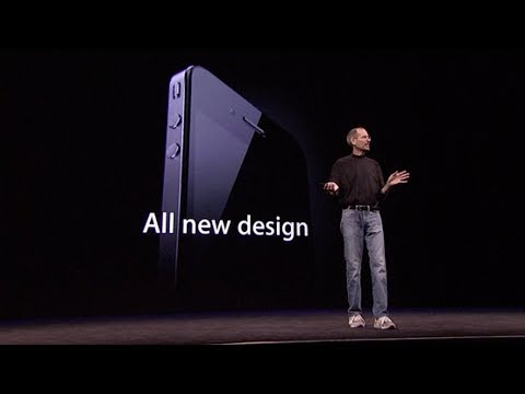 Steve Jobs introduces iPhone 4 & FaceTime – WWDC (2010)