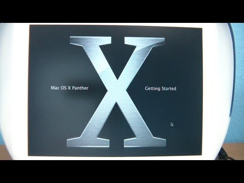 How to install OS X on an iBook G3 Clamshell