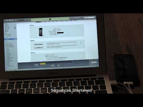 A: How to Restore an iPhone 4S / 4 / 3GS from an iTunes Backup – How to Use My iPhone Tutorial 4
