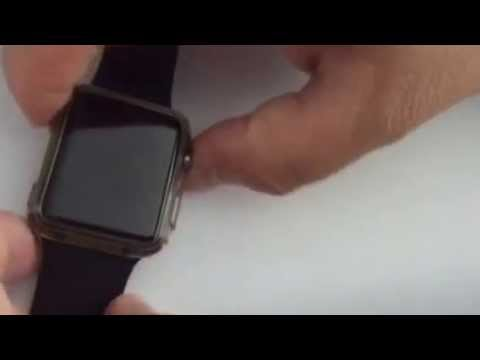 How to hard reset apple iwatch