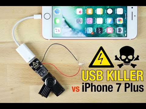 USB Killer vs iPhone 7 Plus – Instant Death?