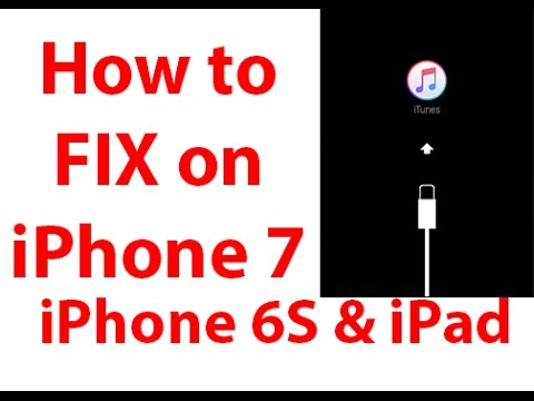 Fix connect to iTunes on iPhone 7, iPhone 6S, iPhone 6 or iPad