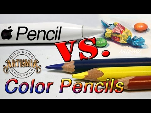 Apple Pencil VS Color Pencils ~ Artismia Drawing (iPad Pro & Paper by 53)