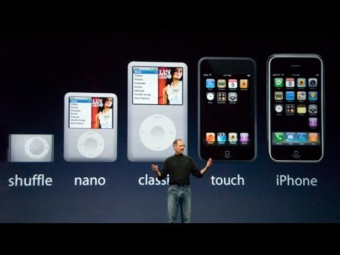 Steve Jobs introduces iPod Touch & iTunes Wi-Fi Store – Apple Special Music Event (2007)