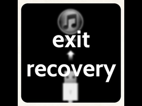 How to Exit Apple Recovery Mode without iTunes 2017 working!