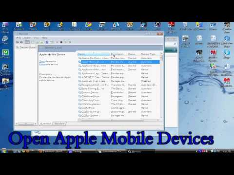 "How to fix ""Apple mobile device service not started error"""