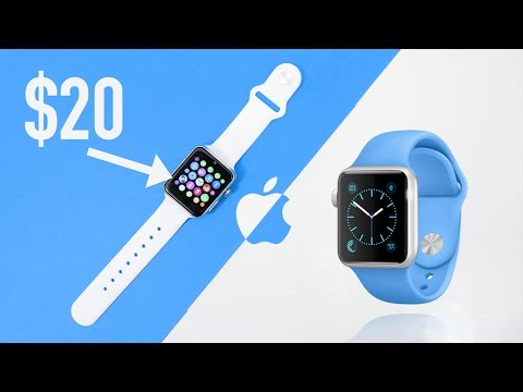 $20 Apple Watch Clone! (Fake) Smartwatch Review – iOS & Android