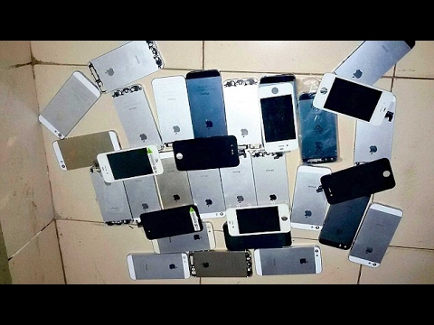 Айфоны которые  я нашел за год! IPhones which I found in a year!