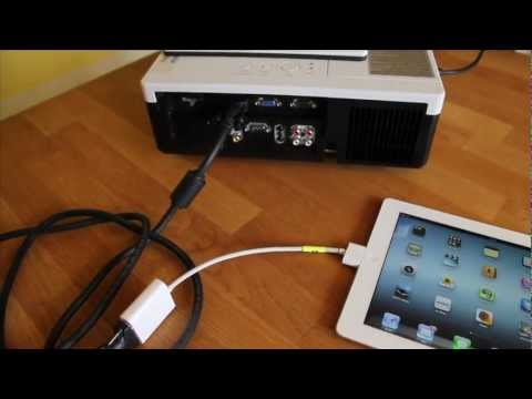 How to connect your iPad to a projector, screen or TV