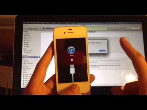Fix :- iPhone rebooting or stuck on Apple / iTunes Logo – How To DFU Mode