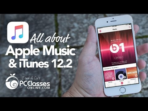 All About Apple Music & iTunes 12.2 Live