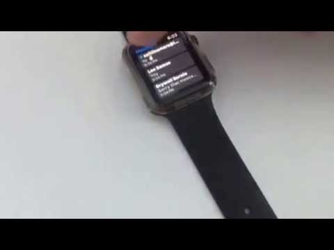How to delete text messages on apple iwatch