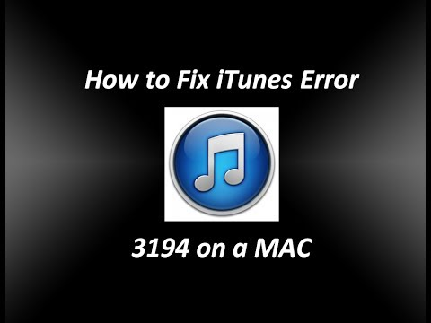 How to Fix iTunes Error 3194 on a Mac – This device isn't eligible for the requested build