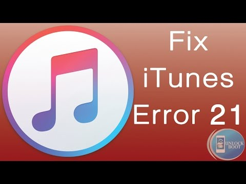 5 Ways To Fix iTunes Error 21 iPhone 5 5S 5C 4S 6 6 Plus 6S & 6S Plus