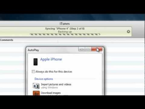 """iTunes Error: """"itunes can't connect to this iphone because of an unknown error occurred"""""""