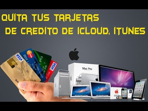 Como quitar y/o eliminar Tarjeta de Credito de iTunes iCloud Apple How to remove itunes credit card