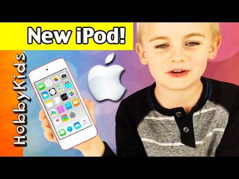 New iPod Touch! Apple Device Review with HobbyFrog + Batman Cover HobbyKidsTV