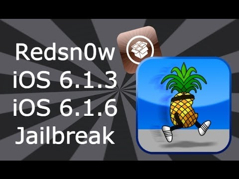 How To Jailbreak iOS 6.1.3 / 6.1.6 For iPhone 4, 3GS & iPod Touch 4