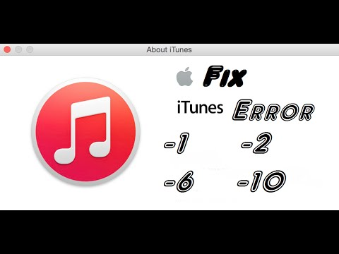 How To Fix iTunes Error 1, 2, 6, 10 iPod/iPhone/iPad, Feb 2015