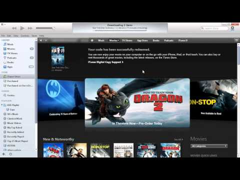 How to Redeem Blu Ray Digital Copy Code iTunes Download without Disc, no Studio Website Registration