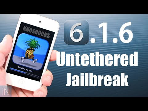 How To Jailbreak iOS 6.1.6 Untethered iPhone 3GS & iPod Touch 4G Redsn0w & P0sixsPWN