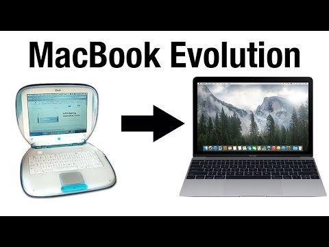 Evolution of Apple's Consumer Laptops