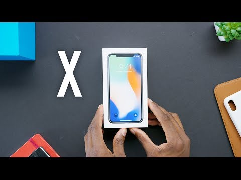 Apple iPhone X Unboxing!