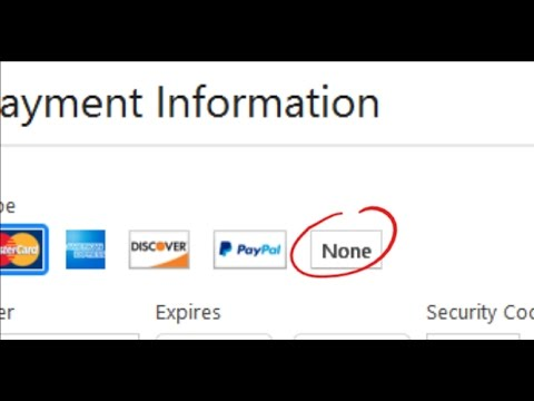 How to get the NONE option/remove payment info – Apple [PC/Mac] (Works 2018)