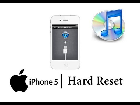 factory reset iphone reset apple iphone 5 w itunes master data wipe 1203